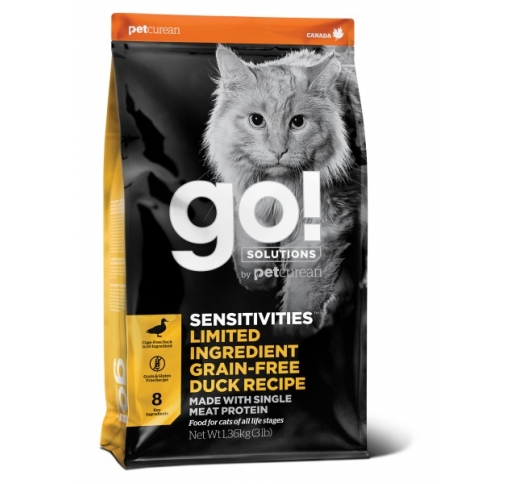 Tester Go! Sensitivities Grain Free Duck Recipe for Cats & Kittens 100g