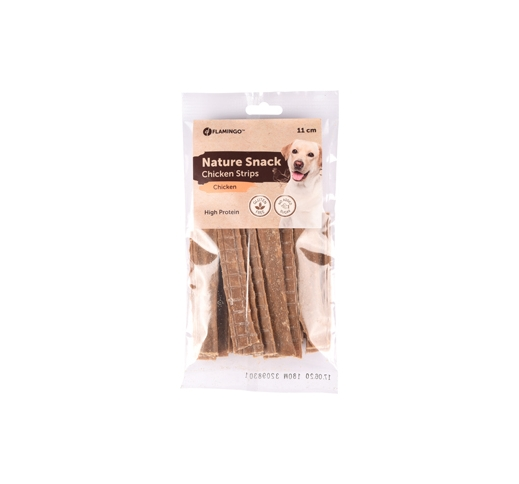 Nature Snack Chicken Strips 100g 11cm