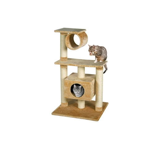Cat Scratching Pole Teide Beige 60x57x103cm