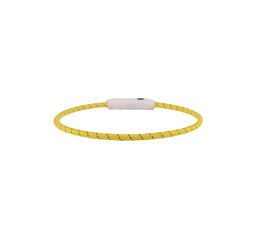 LED Kaelarihm Visio Nylon Kollane 33-63,5cm 8mm