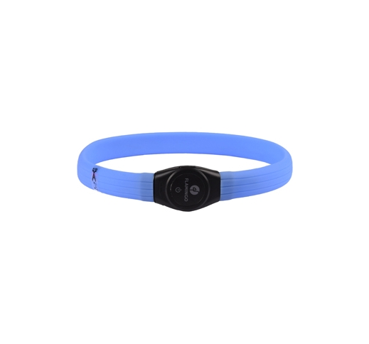 LED Collar Jumbo Blue 35-64cm