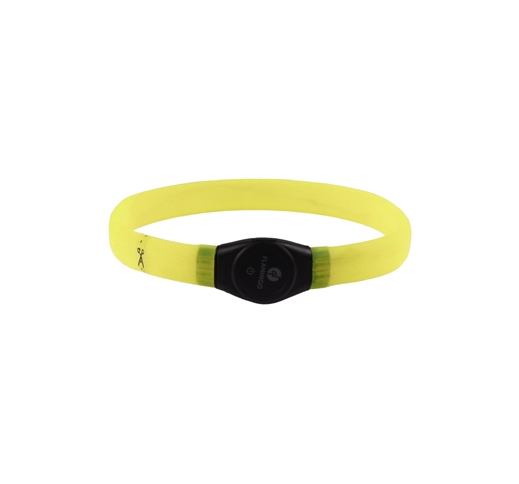 LED Collar Jumbo Yellow 35-64cm
