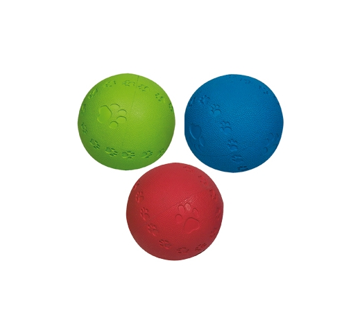 Rubber Ball Summer Squeak 8cm
