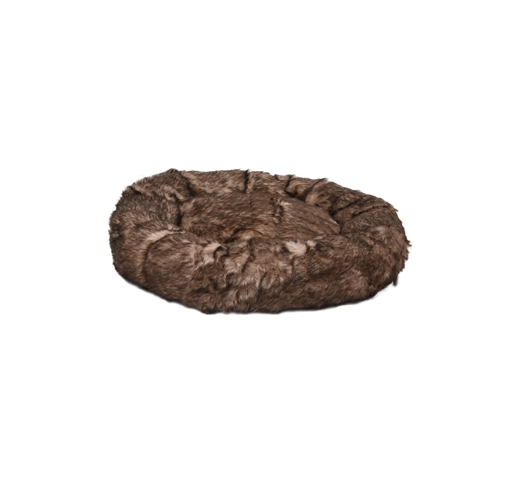 Basket Corno Round Brown 70x15cm