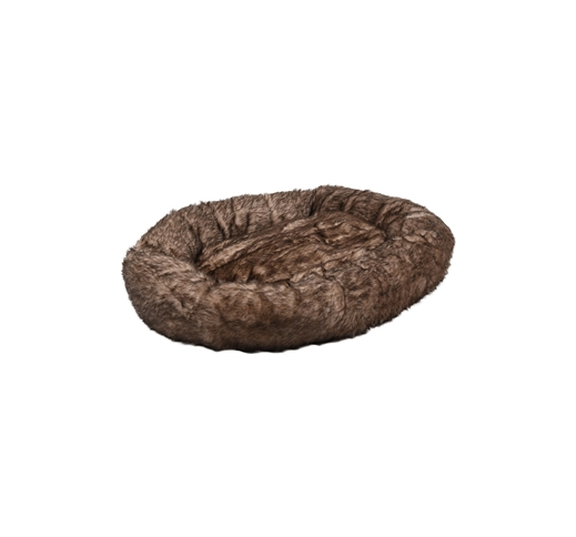 Basket Corno Round Brown 90x18cm