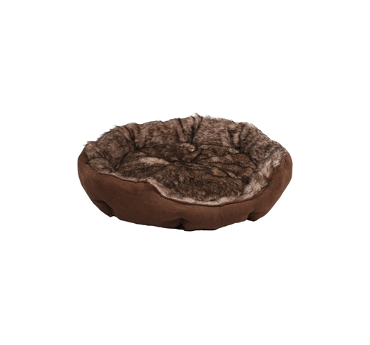 Basket Corno Octagonal Brown 70x65x20cm