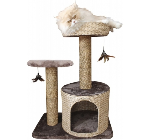Cat Scratching House Larix 60x38x80,5cm