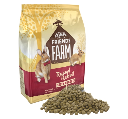 Supreme Russel Tasty Nuggets for Rabbits 2kg