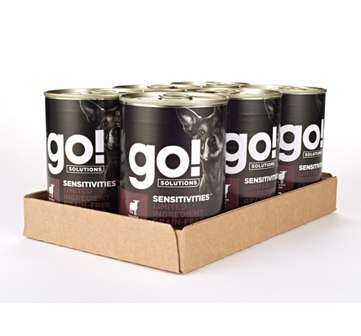 6x Go! Sensitivities Lamb Pate for Dogs 400g