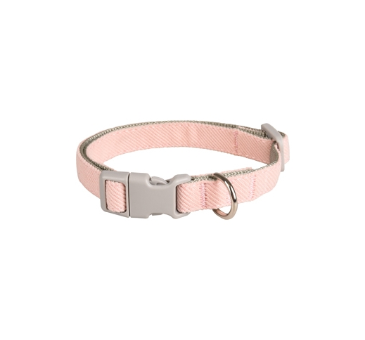 Small Dog Collar Pink 25-43cm 15mm