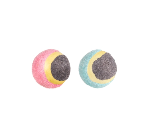 Small Dog Tennis Ball 4,5cm 2pcs