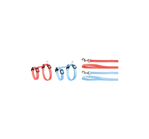 Kitten Harness + Leash Aiwa 15-25cm 10mm