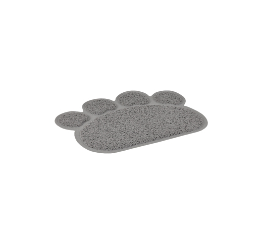 Cat Litter Tray Paw Grey 60x45cm
