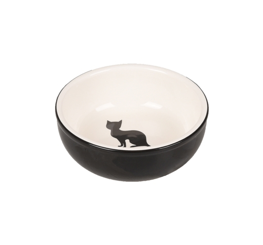 Ceramic Bowl Nala Black/White ø13cm 310ml