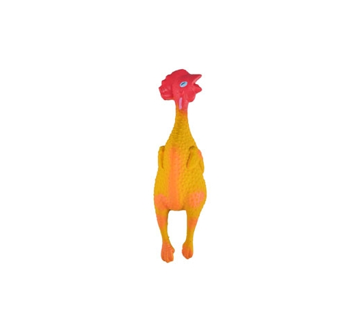 Latex Chicken Gallina 14cm