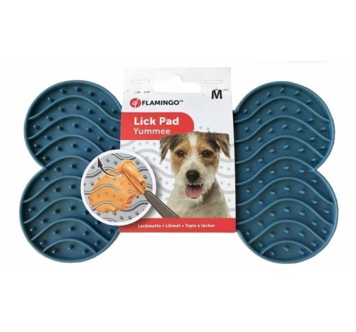 Silicone Lick Pad Blue M 12,8x21,8cm