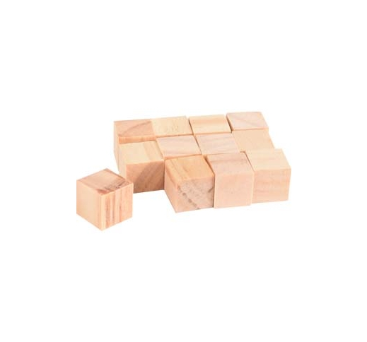 Gnawing Blocks Nibo 1,5x1,5cm 12pcs