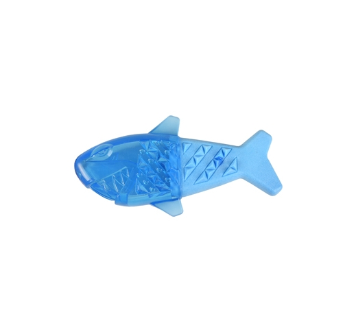 TPR Fresk Snowy Fish Dog Toy 18cm