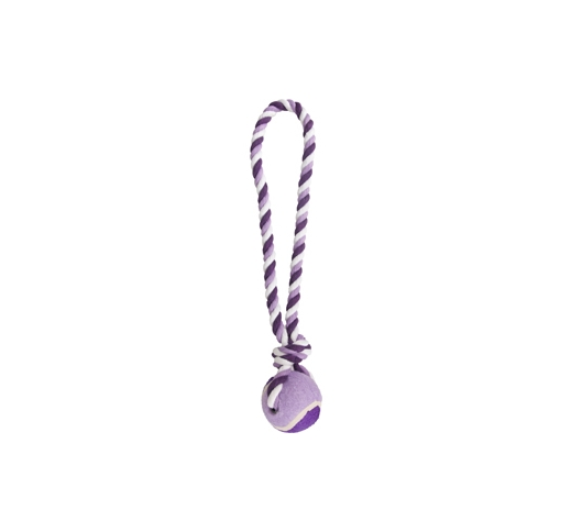 Tennis Ball Justin with Cotton Rope ⌀6cm 40cm