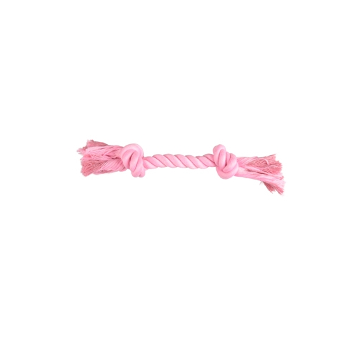 Small Dog Knotted Rope Izra Pink 20cm