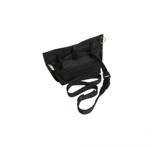 Treat Bag Trim Black 19x22cm
