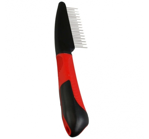 Comb with Rotating Teeth + Handle