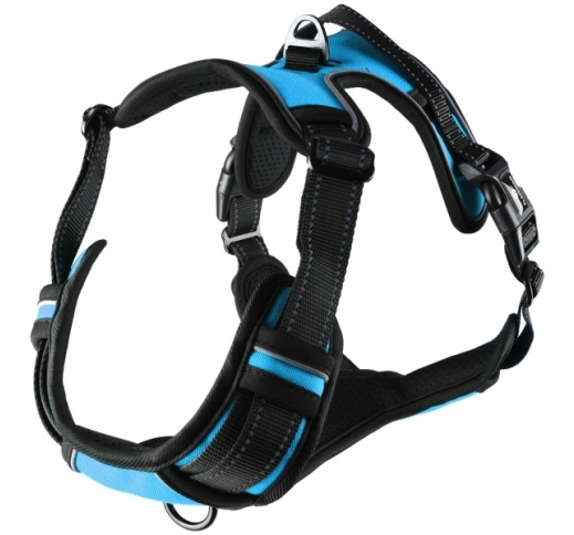 Harness Balou Blue M 50-65cm x 25mm