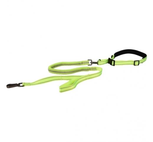 Jogging Leash 103cm + Waist Belt Diran (100-130cm)