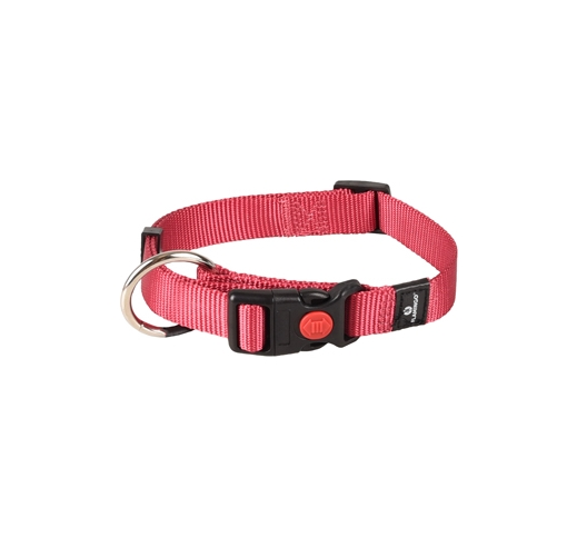 Collar Nylon Cherry 30-45cm 15mm