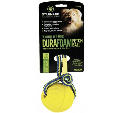 Starmark Swing & Fling DuraFoam Ball M
