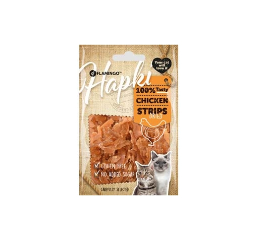 Hapki Dried Chicken Strips 50g