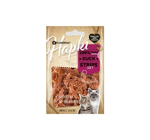 Hapki Dried Duck Strips 50g