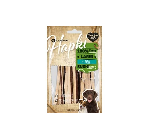 Hapki Lamb+Fish Sushi Strips for Dogs 85g