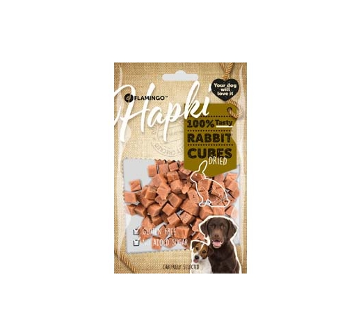 Hapki Rabbit Cubes for Dogs 85g