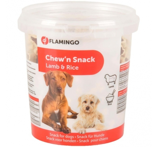 Chew'n Snack Soft Bones with Lamb/Rice 500g