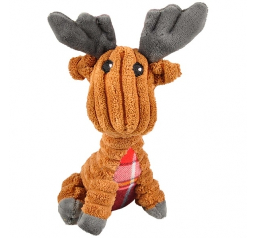 Dog Toy Corduroy Reindeer 15cm