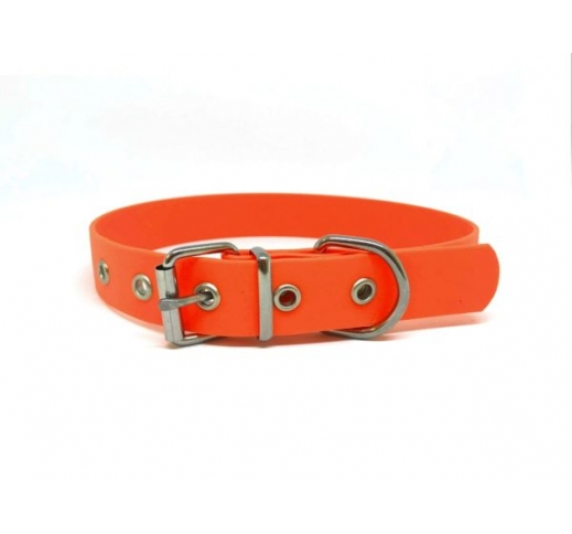 BioThane Collar Orange 25mm x 55cm