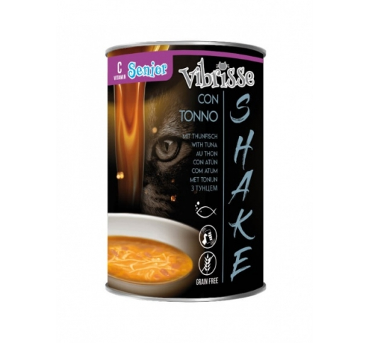 Vibrisse Shake for Senior Cats with Tuna (Soup) 135g