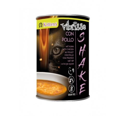 Vibrisse Shake for Kittens with Chicken (Soup) 135g