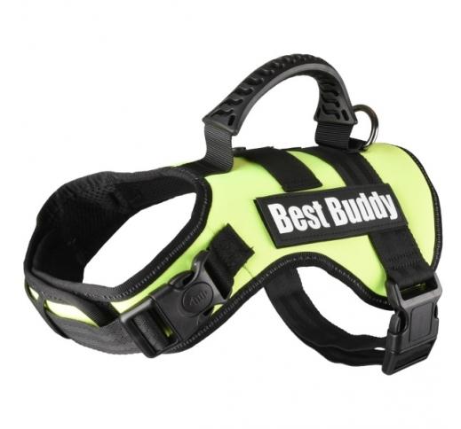 Шлейка Best Buddy M, зеленый, 60-80см, 38мм