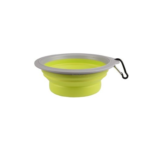 Travel Bowl Bubo Green/Grey 375ml