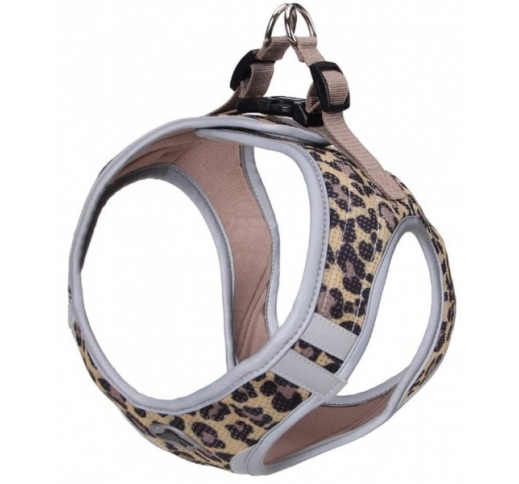 Harness Refelctive Leopard XL 53-58cm