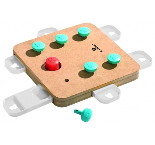 Interaktiivne Mänguasi Koerale Train Cube 32x32x5cm