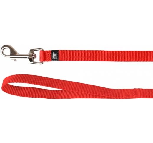 Leash Ziggi Red 200cm 20mm