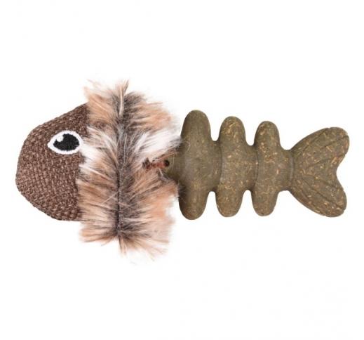 Cat Toy Natura Delight Fish 9cm + Catnip