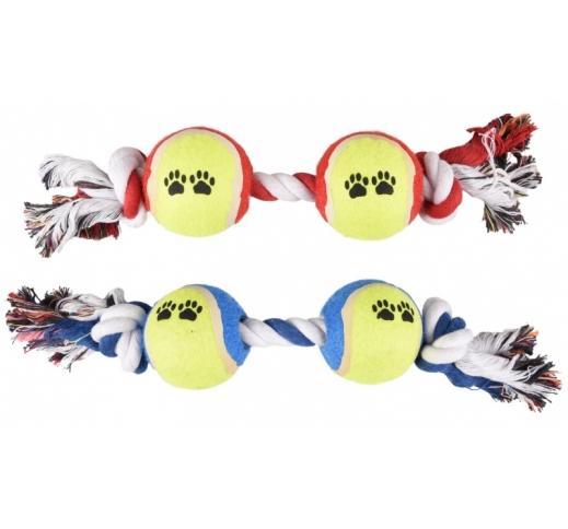 Duotennisball Rope Sammy 6cm/35cm