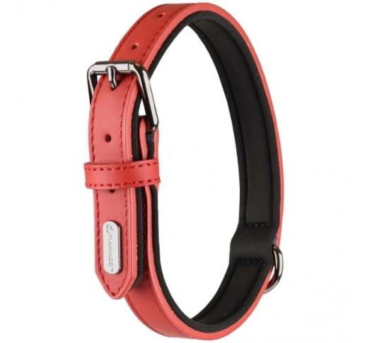 Collar Binti Red 38-48cm 25mm