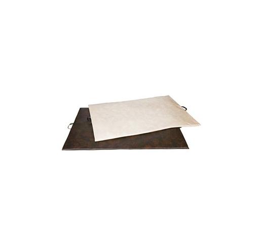 Кровать из мягкои кожы 98x68x3см