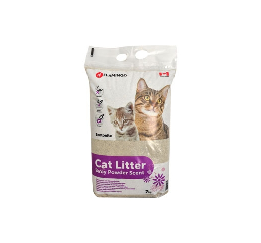 Cat Litter Baby Powder Scented 7kg