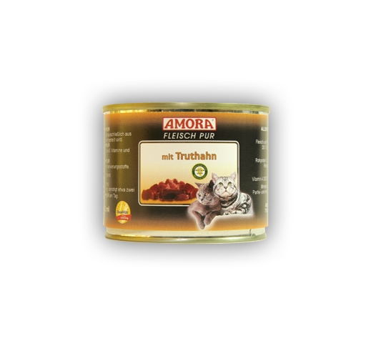 Amora Canned Cat Food (Turkey) 200g